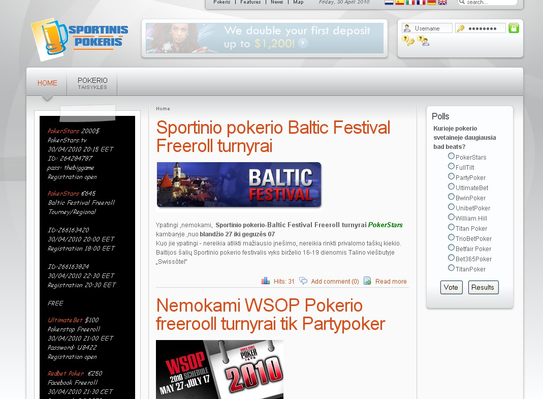 Sportinis Pokeris