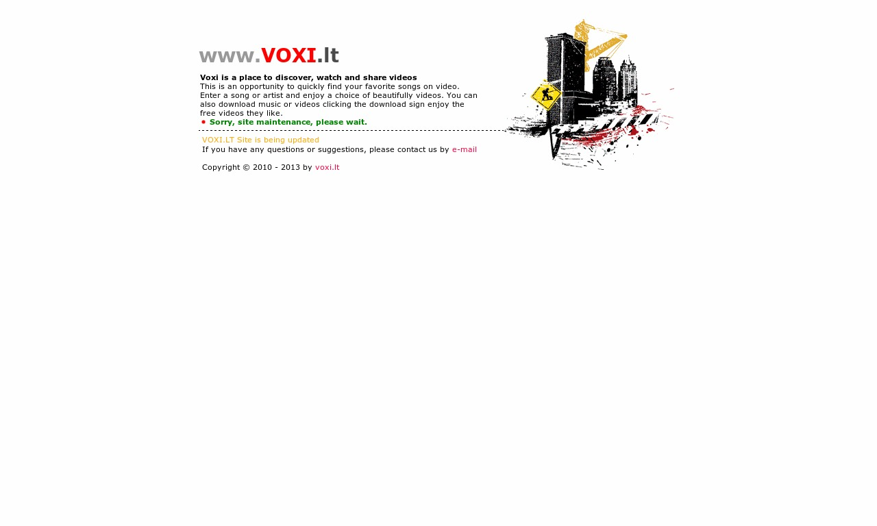 Voxi.Lt - Place to discover, watch and share videos